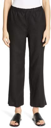 Eileen Fisher Cropped Linen Pants