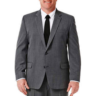 Haggar Travel Performance Stria Classic Fit Suit Jacket - Big & Tall