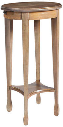 One Kings Lane Browning Oval Accent Table - Driftwood