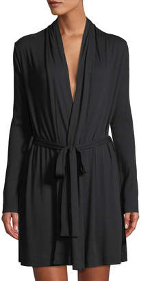 Skin Short Jersey Wrap Robe