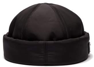 Prada Padded Nylon Beanie Hat - Mens - Black
