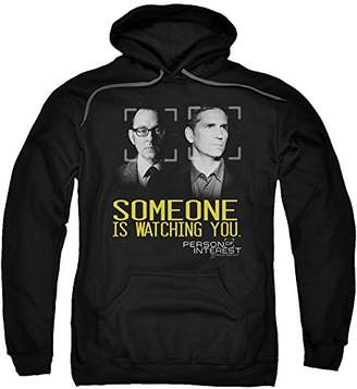 Trevco Men's Person Of Interest Hoodie Sweatshirt