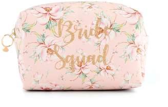 """Jade & Deer """"Bride Squad"""" Loaf Cosmetic Bag"""