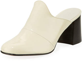 Trademark Frances Patent Leather Mules