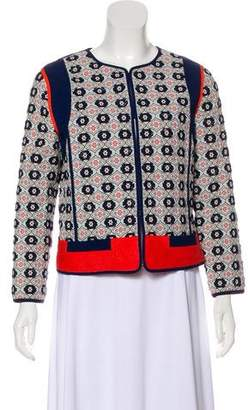Tory Burch Embellished Quilted Jacket w/ Tags