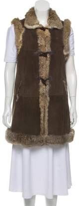 Belle Fare Shearling Rabbit Fur Vest