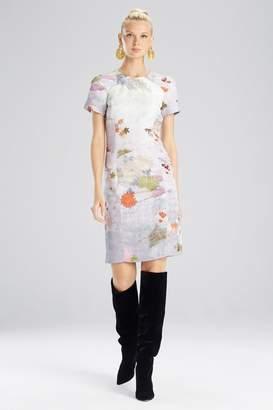 Josie Natori Japonais Jacquard Dress