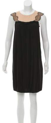 3.1 Phillip Lim Silk Lace-Accented Dress