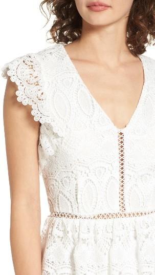 Women's J.o.a. Lace Fit & Flare Dress 2
