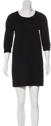 Vince Wool Mini Dress