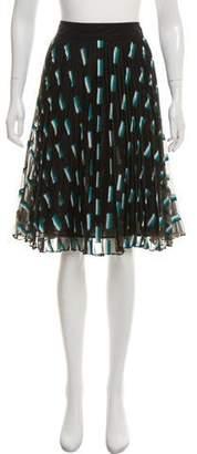 Jason Wu Grey by Knee-Length Striped Skirt