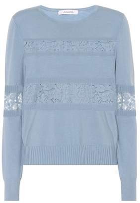 Schumacher Dorothee Lace Embrace wool-blend sweater