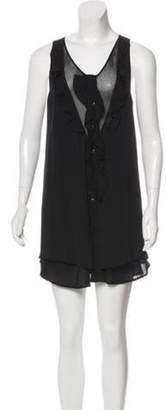 Proenza Schouler Silk Shift Dress Black Silk Shift Dress