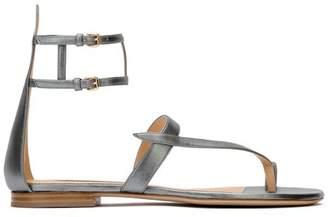 Neil J. Rodgers Miki Silver Gladiator Sandal