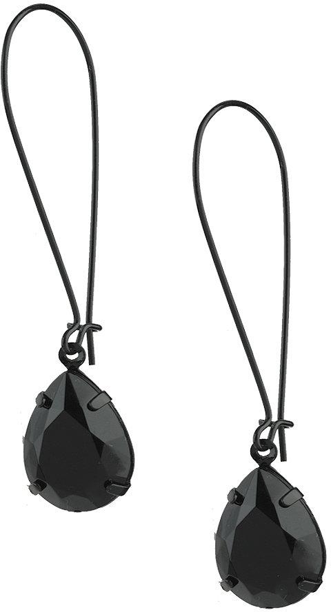 Tear Drop Jewel Earrings