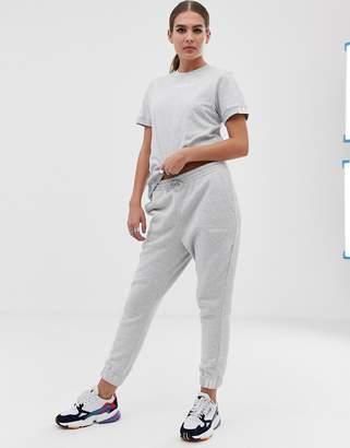 adidas Coeeze sweat pant in gray heather