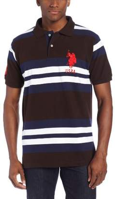 U.S. Polo Assn. Men's Multicolored Striped Polo Shirt