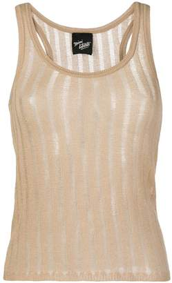 Michel Klein sleeveless knit top
