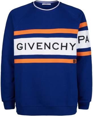 Givenchy 4G Logo Stripe Sweatshirt