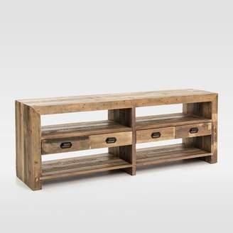 "west elm Emmerson® Reclaimed Wood 4-Drawer Media Stand (70"")"