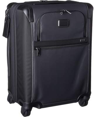 Tumi Alpha Continental Expandable 4 Wheel Carry-On Carry on Luggage