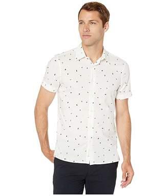 Perry Ellis Portfolio Slim Fit Mini Confetti Print Shirt