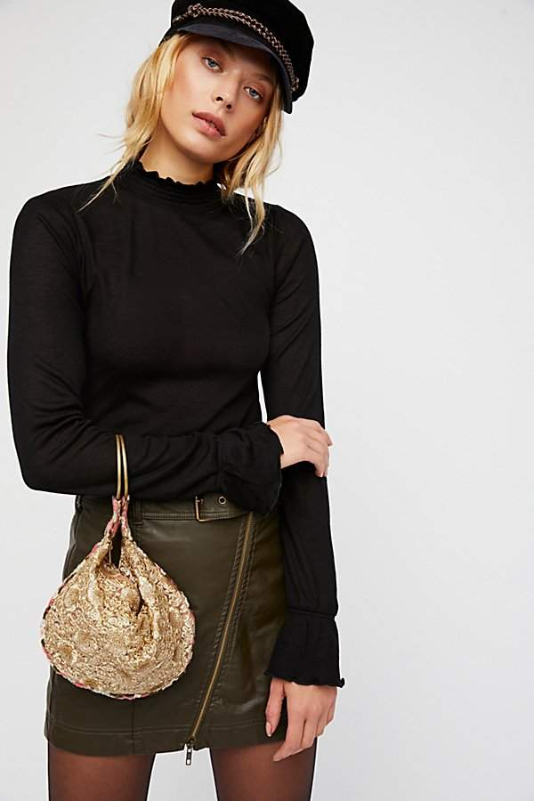Rosalita Embellished Clutch by Free People