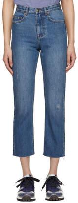 A.P.C. Indigo Standard Coupe Jeans