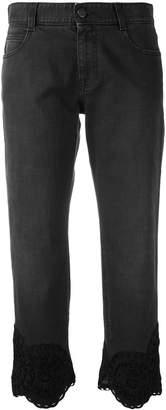 Stella McCartney 'Tomboy' lace hem trousers