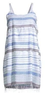 Lemlem Tiki Stripe Shift Dress