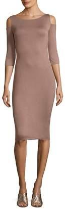 Bailey 44 Women's Cold-Shoulder Bodycon Dress