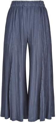 Pleats Please Pleated Wide Leg Trousers