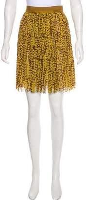 Louis Vuitton Knee-Length Abstract Print Skirt Set
