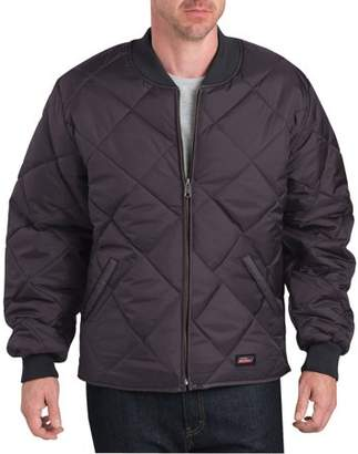 Dickies Genuine Big Men's Quilted Zip Front Lined Jacket