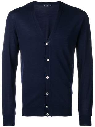 Hackett V-neck button front cardigan
