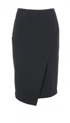 Anson Stretch Asymmetrical Skirt $325 thestylecure.com