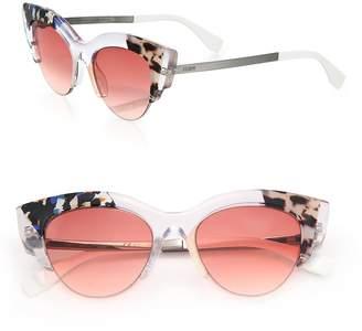 Fendi Women's 50MM Acetate Cat's-Eye Sunglasses