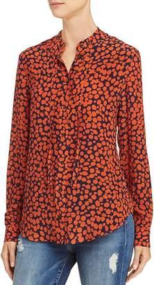 Anine Bing Holly Printed Silk Shirt