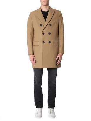 Ami Alexandre Mattiussi Double-breasted Coat