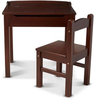 Melissa & Doug Kids' Wooden Lift-Top Desk w/ Chair
