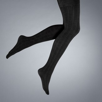 Vera Wang Women's Simply Vera Cable Knit Fleece Lined Tights