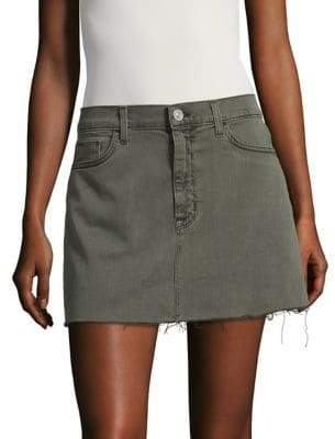 Hudson Denim Mini Skirt