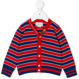 Gucci Kids woven stripe cardigan
