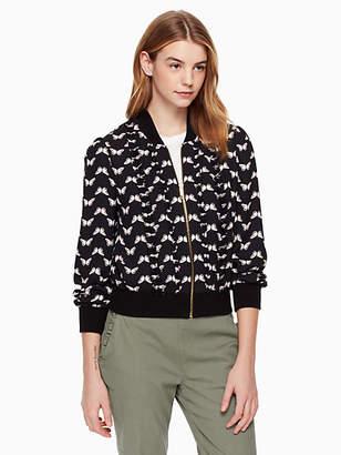 Kate Spade Butterfly bomber jacket