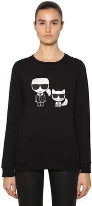 Karl Lagerfeld & Choupette Ikonik Sweatshirt