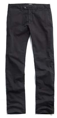 Todd Snyder Extra Slim Fit Tab Front Stretch Chino in Black