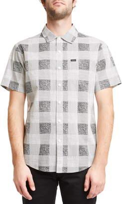 Brixton Charter Plaid Woven Shirt