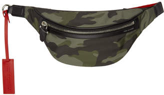 Neil Barrett Green Camo Belt Pouch