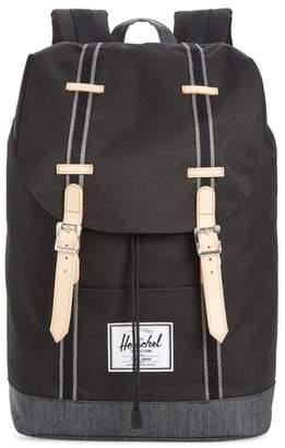 Herschel Retreat Offset Denim Backpack