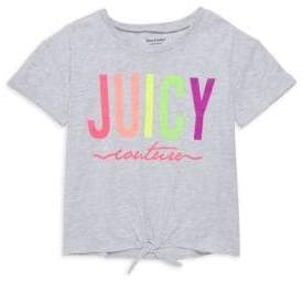 Juicy Couture Little Girl's & Girl's Graphic Cotton-Blend Tee